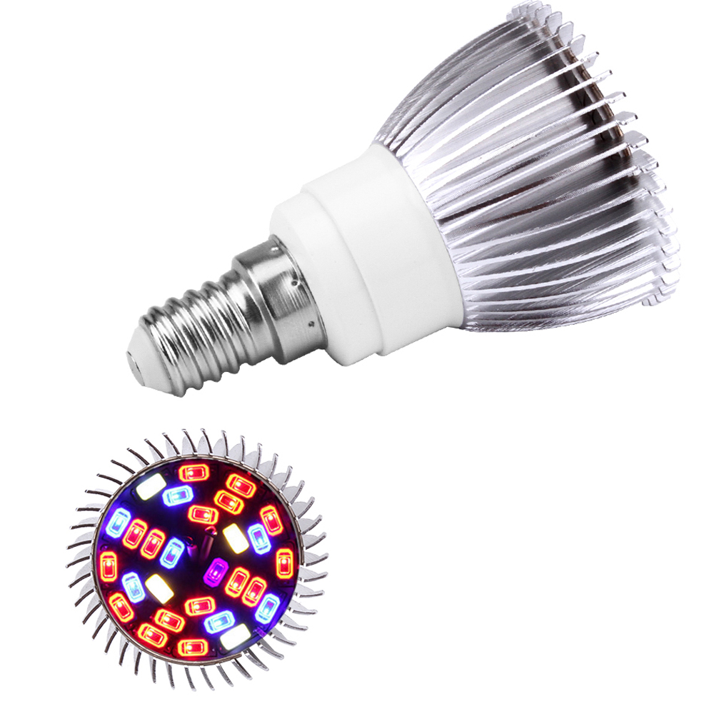 Espectro completo led planta cresce a luz