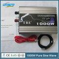 TBE 1KW Venda Hot Car Potência Do Inversor DC 12 V Para AC 220 V 1000 W Senoidal Pura Energia Das Ondas inversor Para Carros
