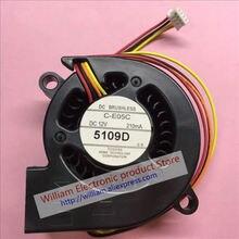 New Original FONSONING C-E05C 12V 210MA for Epsn S-100 EB-C26XE/C26SH/C28SH/C30X/C30XE Projector Lamp cooling fan