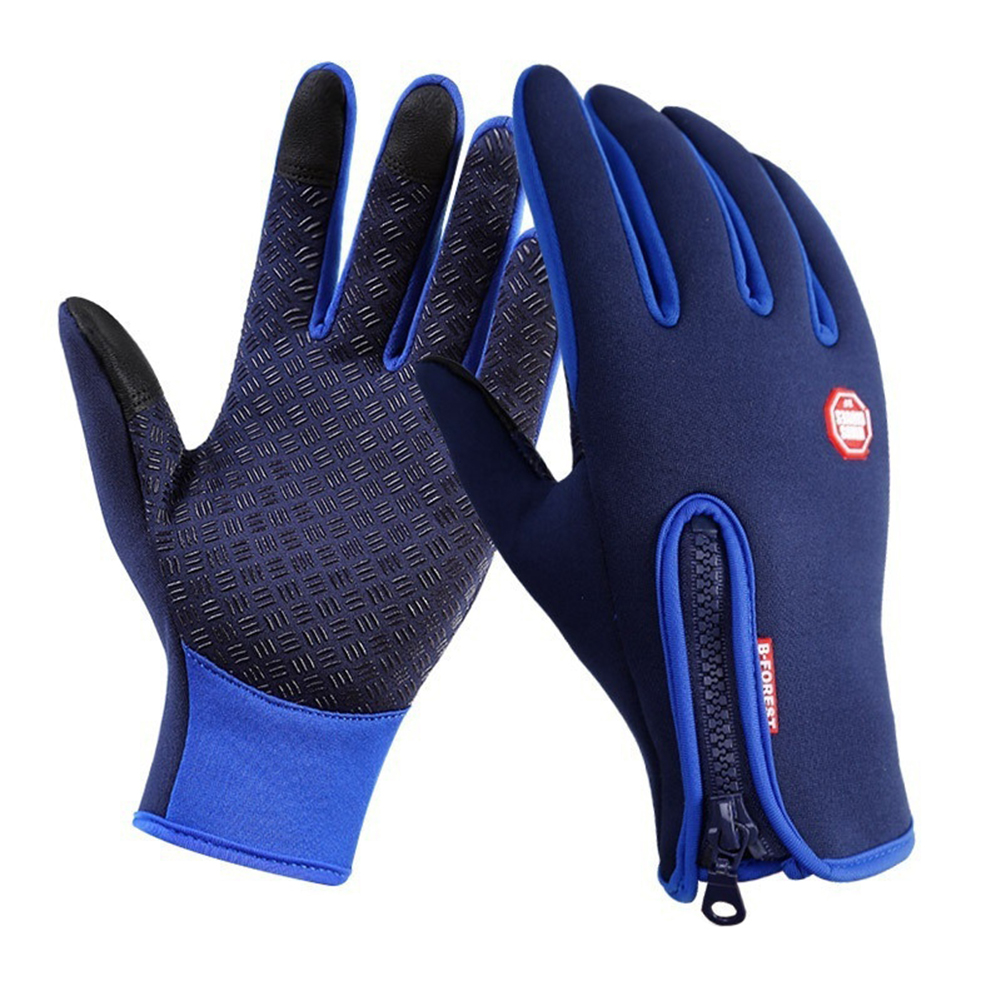 Winter Touch Screen Motorcycle Fishing Outdoor Sports Mittens Skiing Gloves