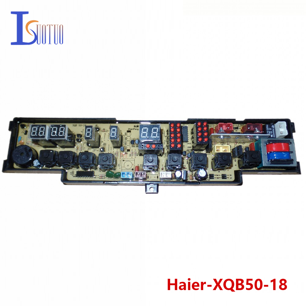 Haier washing machine brand new computer board XQB50-18 XQB50-18B XQB52-18 free shipping 100% tested washing machine board for haier xqb50 0528 xqb60 0528a on sale