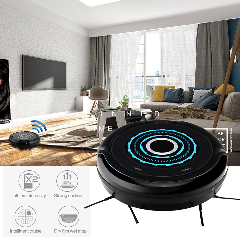 USB Dust Sterilize Intelligent Robot Vacuum Cleaner Automatic Cleaning Mopping Robot Dry Wet Floor Cleaning Sweeper Household vbot sweeping robot cleaner home fully automatic vacuum cleaner special offer clean robot mopping machine