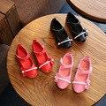 Nova primavera de 2017 crianças shoes meninas arco tendão princesa shoes menina shoes