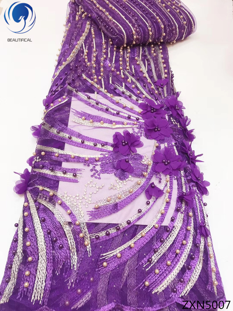 BEAUTIFICAL 3d bridal lace fabric african lace embroidery fabric purple color best selling 2018 products new 5yards/lot ZXN50BEAUTIFICAL 3d bridal lace fabric african lace embroidery fabric purple color best selling 2018 products new 5yards/lot ZXN50