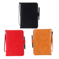 Flip PU Leather Case Ultra Slim Screen Protector Film Smart Cover Stand With Stylus Pen For