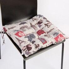 Fashion Square Polka Dot Seat Cushion Home Office Travel Soft Chair Cushion Pad