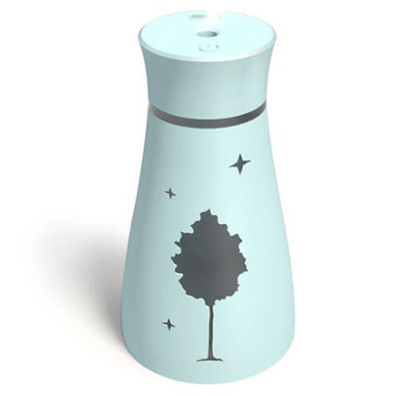 Ultrasonic Air Humidifier Aroma Essential Maple Leaf Oil Diffuser For Home Car Usb Fogger Mist Maker With Led Night