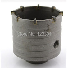 Free shipping of professional 100 72 M22 carbide tipped wall hole saw for air condtiional holes