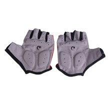 Rękawiczki rowerowe Half Finger Antypoślizgowe Oddychające
