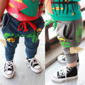 free shipping new arrive Clothing male child long trousers 2014 spring casual sports wings letter 0 - 3 v baby  girl boy