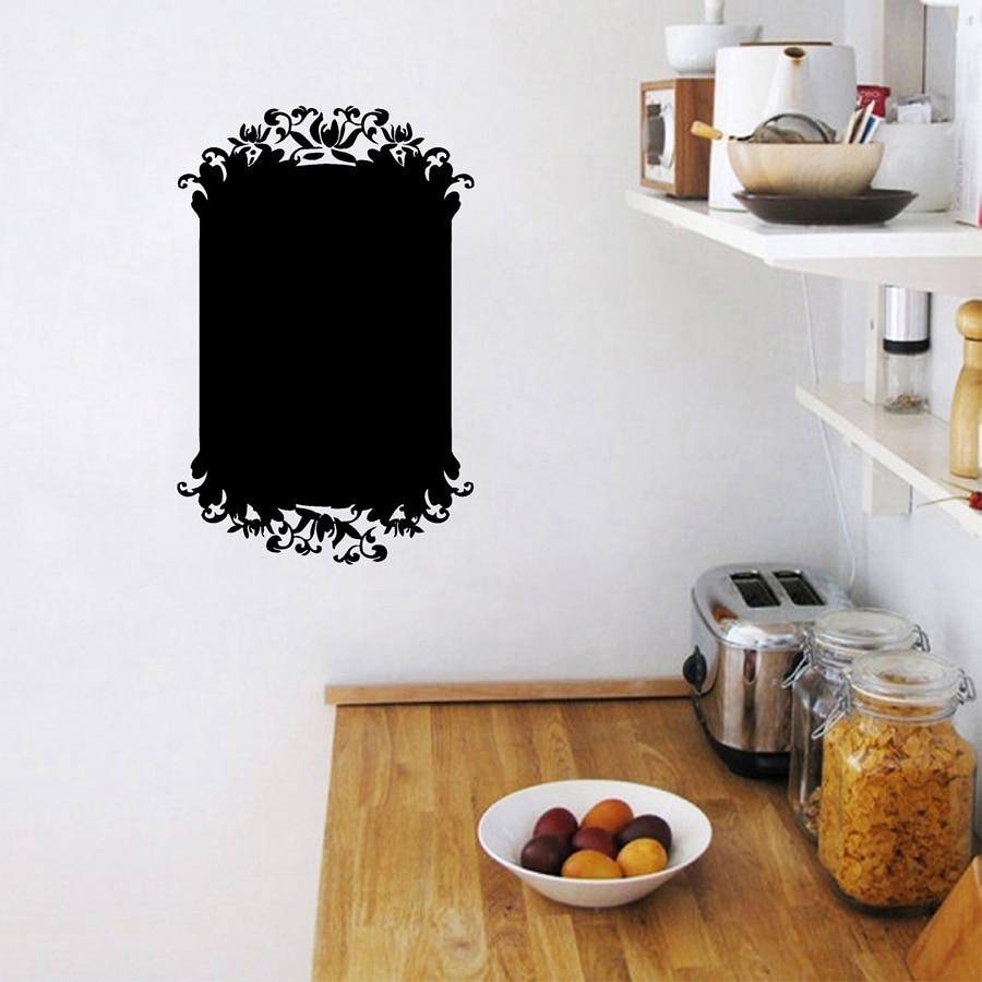 lavagna su frigorifero. lavagna magnetica decorata con tappetini da ...