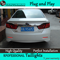 A&T Car Styling for Camry Taillights 2012 Camry V50 LED Tail Lamp Aurion Rear Lamp DRL+Brake+Park+Signal led light