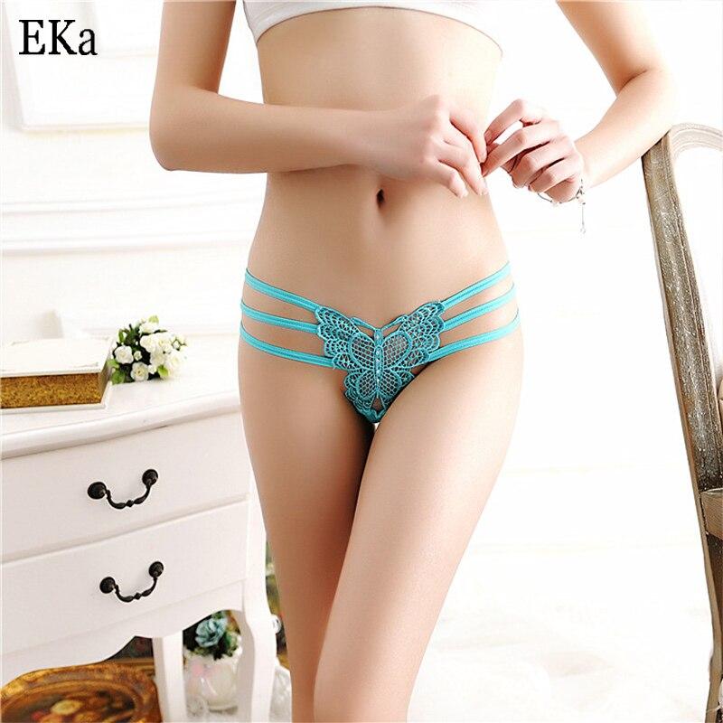 4Pcslot Transparent Fashion Brand Cotton Womens Sexy Lace -7633