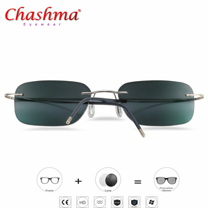 Image 1 - Gafas de sol de transición de titanio para hombre, gafas de lectura fotocromáticas para presbicia, hipermetropía, con dioptrías, para exteriores