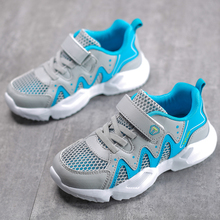 ULKNN Boys shoes 2019 ummer new childrens net sports mesh breathable casual girls big children summer