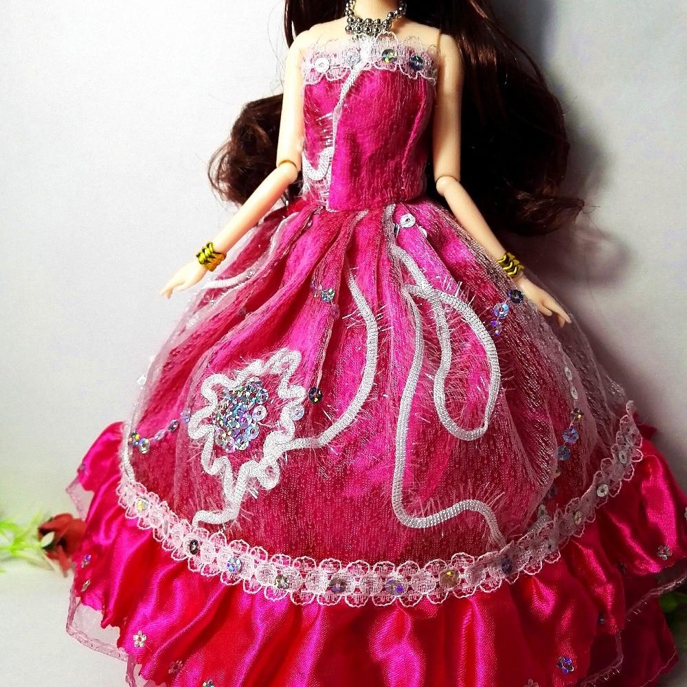 Nueva princesa Doll moda partido vestido de novia movible cuerpo ...