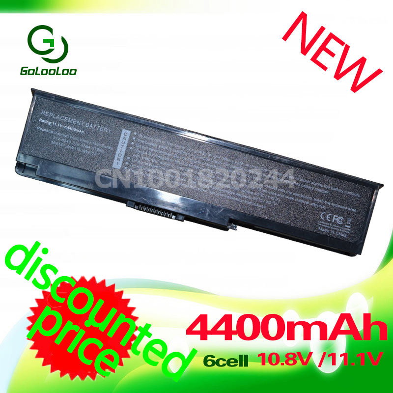 Golooloo 4400MaH Laptop <font><b>Battery</b></font> for <font><b>dell</b></font> <font><b>Inspiron</b></font> <font><b>1420</b></font> Vostro 1400 312-0543 312-0584 451-10516 FT080 FT092 KX117 NR433 WW116 image