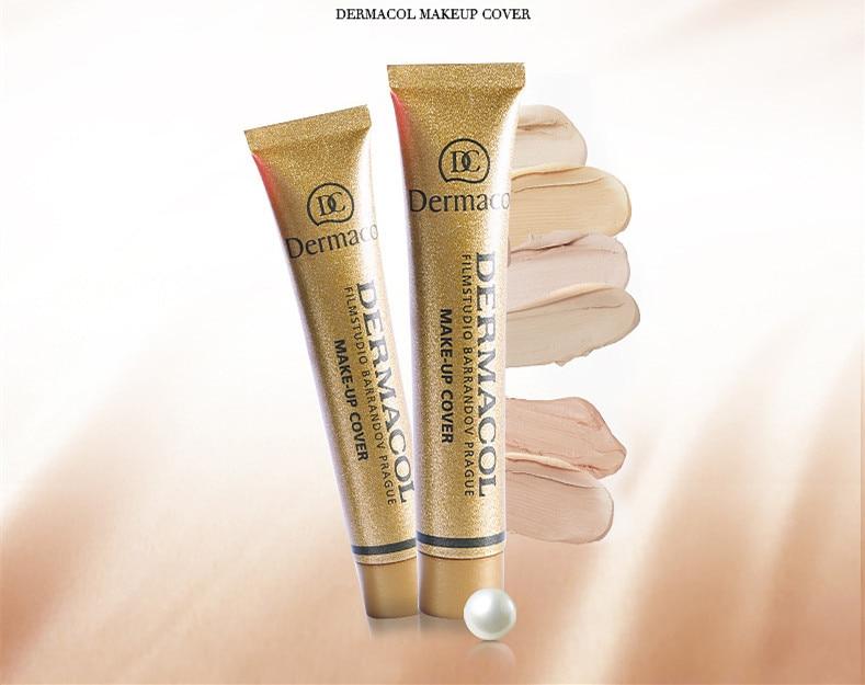 Dermacol Base Make up Cover 30g Primer Concealer Base Professional Face Dermacol Makeup Foundation Contour Palette