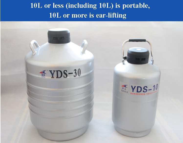 US $647 66 6% OFF|Nitrogen Container Liquid Nitrogen Cans For Liquid  Nitrogen Storage Tank Cryogenic Tank Dewar With Strap YDS 30-in Power Tool