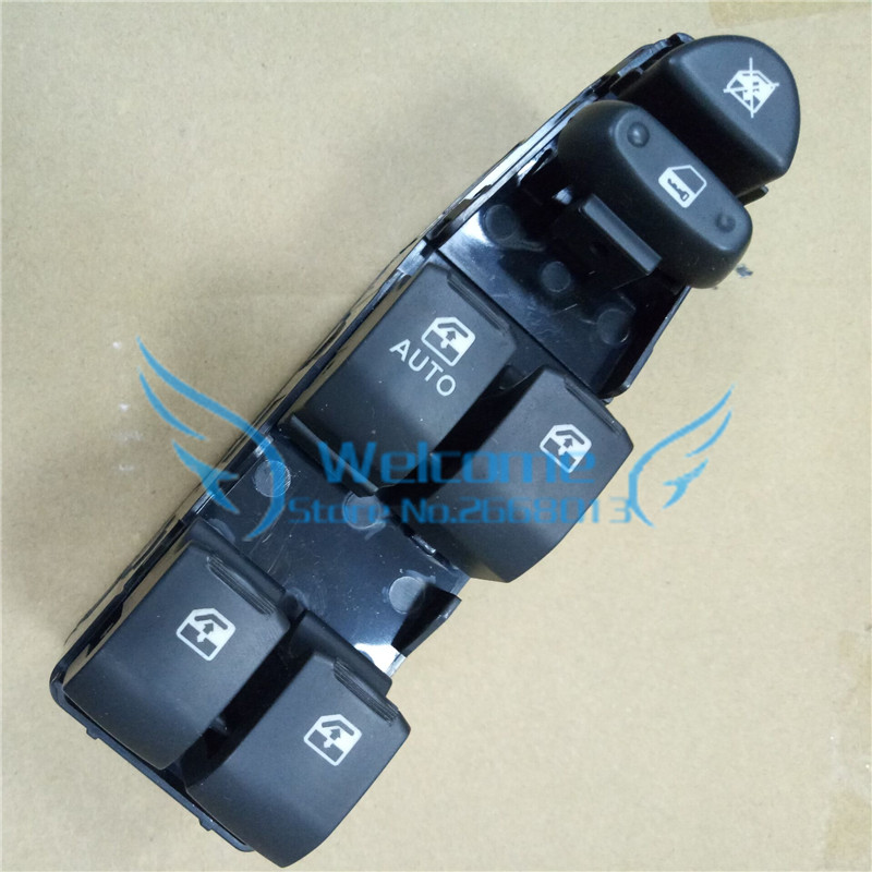 Commutateur de lève-vitre de porte côté conducteur avant gauche pour OEM CHEVROLET EPICA: 96430433