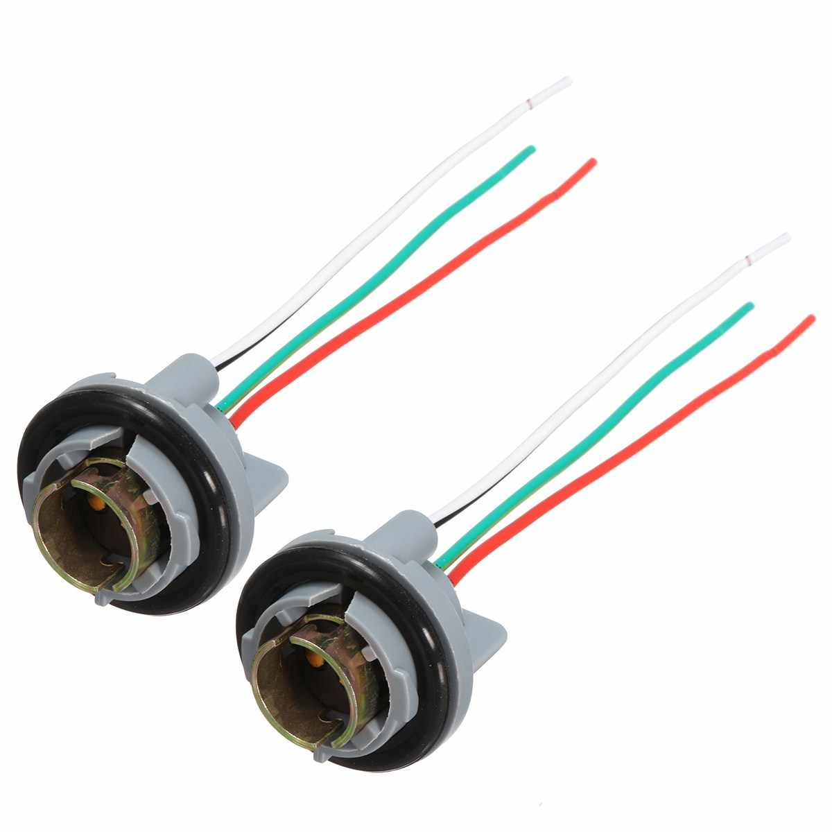 hight resolution of detail feedback questions about 2pcs 1157 turn light brake bulb socket connector wire harness plug for led bulbs on aliexpress com alibaba group