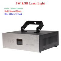 Good Effect Music DJ Disco Laser 1W RGB Laser Show use For Stage Performance Home Entertainment Sound Party Club Lighting