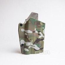 Fma g17l com sf light-bearing coldre cintura rápida pistola coldre para lâmpadas g17/g19 e x300 1329