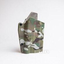 Fma g17l com sf light bearing coldre cintura rápida pistola coldre para lâmpadas g17/g19 e x300 1329