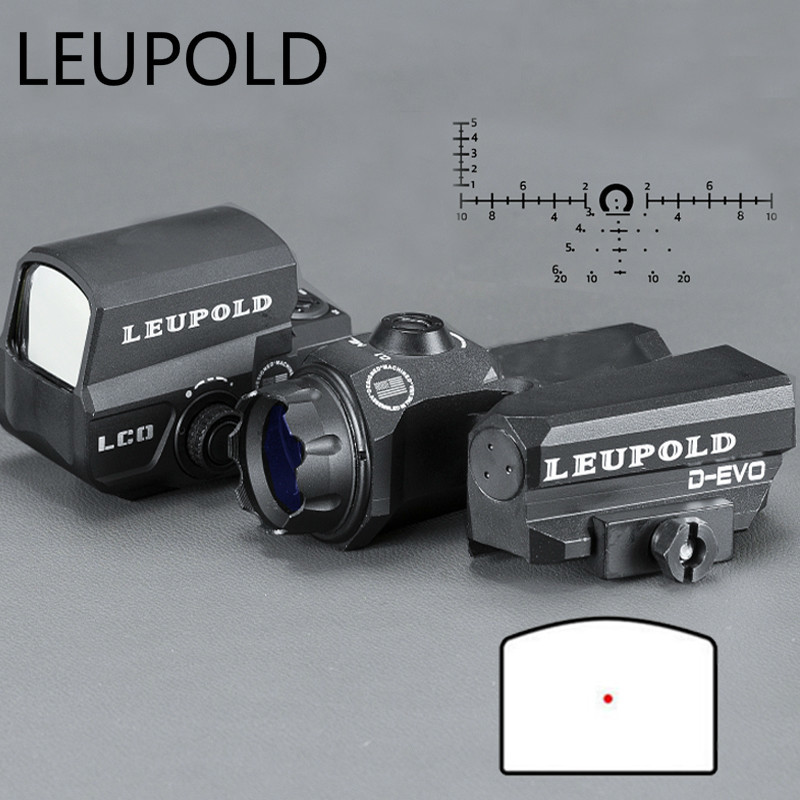 Leupold Dual-enhanced View Optic D-evo Reticle Rifle Scope Magnifier With Lco Red Dot Sight Reflex Sight Hunting Optics цена