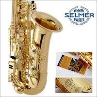 High Quality Free Professional Saxophone E Flat Sax Alto France Henri Selmer Alto Saxophone 802 Saxfone