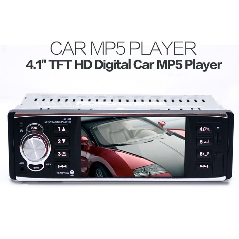 4 1 TFT HD Digital 4019R Car MP5 Stereo FM Radios 50W x 4 MP3 MP4