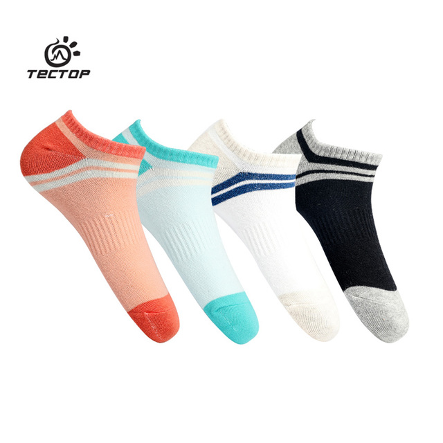 Tectop Women's Summer Quick Dry Cotton Sock Outdoor Sports Breathable Cycling Hiking Climbing Camping Running Female Socks VK049