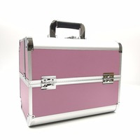 Professional Women Waterproof Cosmetic Bag Storage Organizer Suitcases Beauty Multi Function Cosmetology Tattoo Box Makeup Case