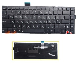 Клавиатура для ноутбука SSEA, Русская клавиатура для Asus X402 X402C X402CA S400 S400CA S400CB S400C F402C