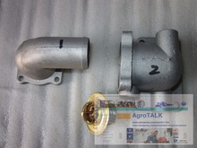 Yangdong Y380T Y385T for Jinma series tractor,the set of thermostat housing, part number: