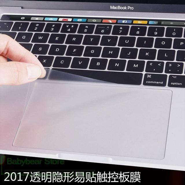 Высокая Ясно Touchpad Защитная пленка-стикер протектор для Apple macbook air 13 pro 13,3 15 retina Touch Bar 12 touch подставка для ноутбука