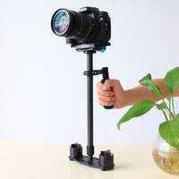 Action Camera Accessories Carbon Fiber Handheld Stabilizer Carbon Fiber Stand 24 Handheld Steadicam Black For DSLR Camera