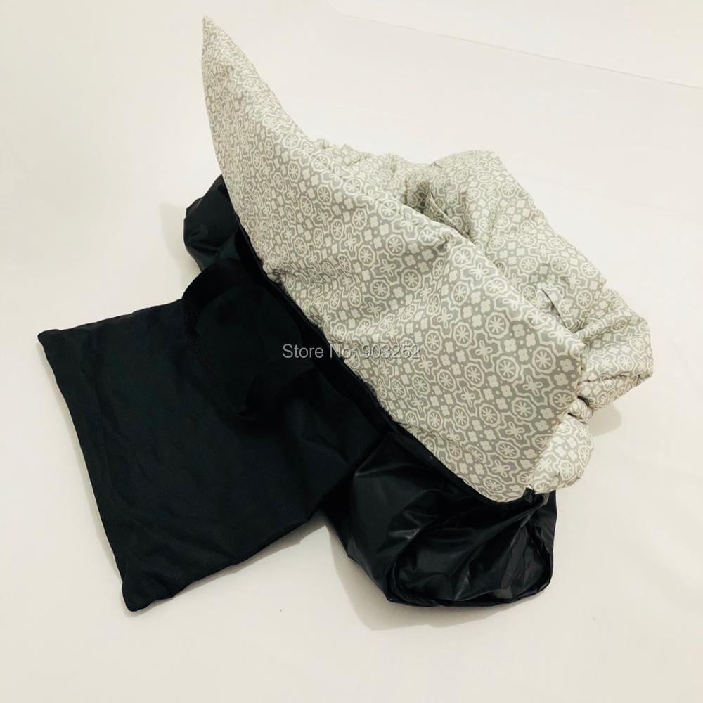 Водонепроницаемый 2 в 1 детская корзина Обложка& высокое чехлы на стулья с ремнями безопасности для младенцев и детей ясельного возраста(унисекс серый