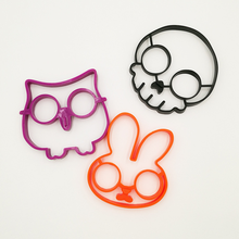 2019 Silicone Mold Egg DIY Fried Pancake Cooker Owl & Rabbit Skeleton Cup Kitchen Gadgets for Cook