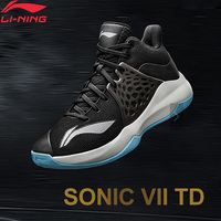 Li Ning Men SONIC TD On Court Basketball Shoes LIGHT FOAM Breathable TPU Support LiNing Sport Shoes Sneakers ABPP029 XYL249