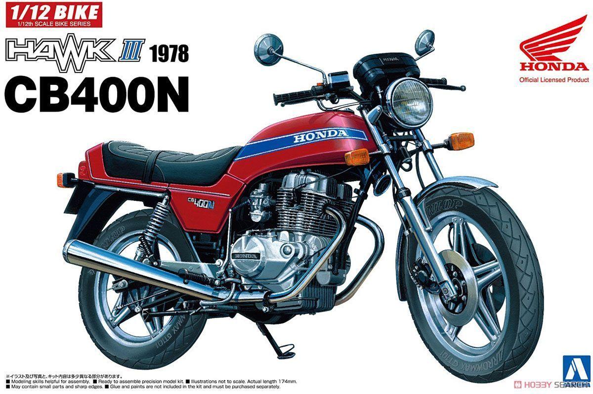 1/12 Motorcycle Honda Hawk III CB400N 1978 05394