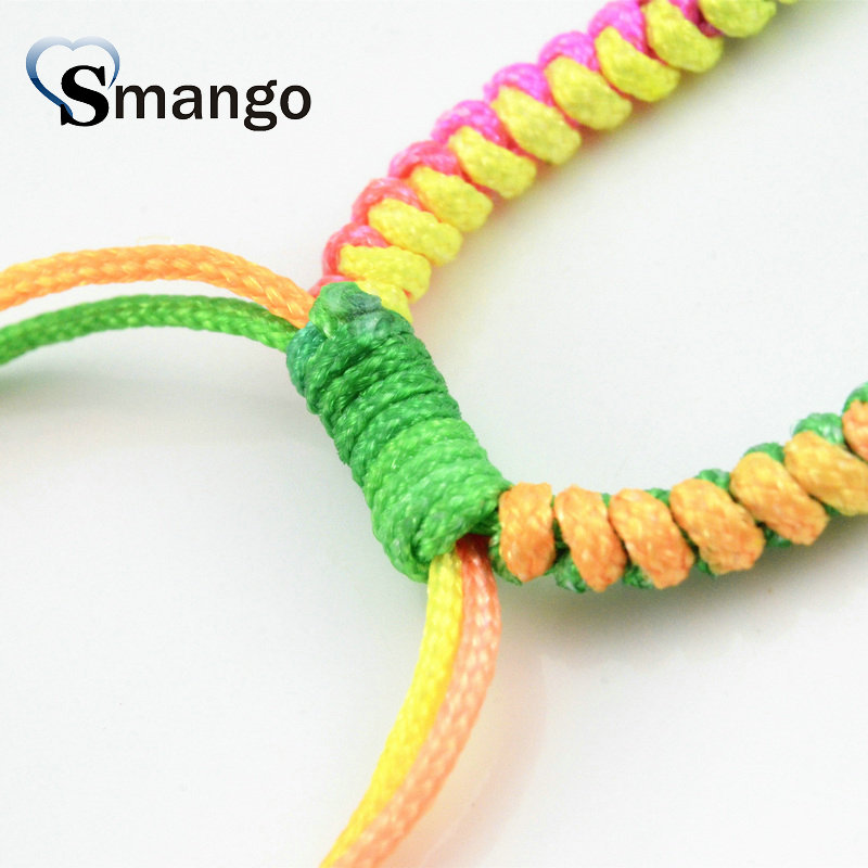 5Pieces The Colorful Bracelet Cords Can Wholesale in Jewelry Findings Components from Jewelry Accessories