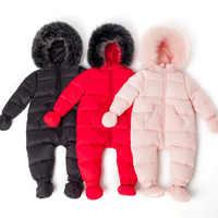 Детская одежда, Комбинезоны для детей, зимний пуховик для девочек, детский комбинезон, детский комбинезон, лыжный костюм, зимний комбинезон ...