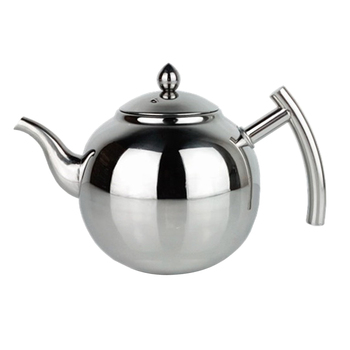 Stainless Steel Teapot Coffee Tea Kettle Loose Leaf Teapot with Infuser 1L 1.5L 2L 1