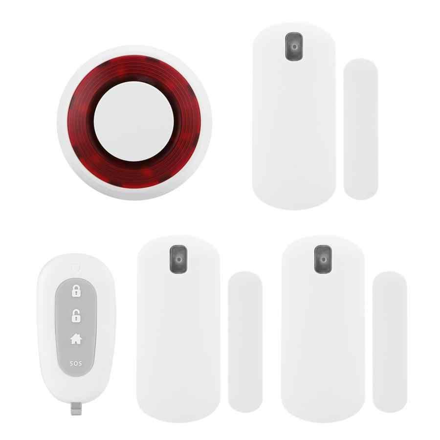 Casa de Segurança Sistemas De alarme Sistema de Alarme Siren Alarme Residencial Portão De Segurança Ímã Remoto Sem Fio Da Porta Sensor de Movimento