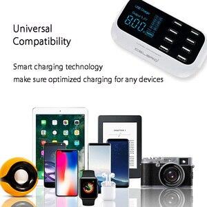 Image 4 - 8 Cổng USB Đa Năng Sạc Hub Sạc Nhanh Quick Charge 3.0 Sạc Di Động Điện Thoại Thông Minh Đế Sạc Dock Dock Điện Thoại Thông Minh Dành Cho Samsung 9