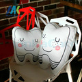 1 pc New tooth-shaped pillow cushion washable creative gifts Children's Day Gifts Dental Clinic gift teeth type Bolster