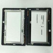 Pantalla LCD Panel de la Pantalla Táctil Digitalizador Asamblea con Marco JA-DA5490NB 5490N Para ASUS Transformer Book T100 T100TA-C1-GR T100T
