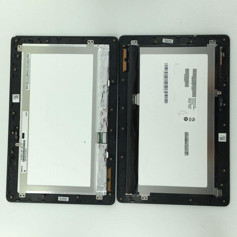 imágenes para Pantalla LCD Panel de la Pantalla Táctil Digitalizador Asamblea con Marco JA-DA5490NB 5490N Para ASUS Transformer Book T100 T100TA-C1-GR T100T