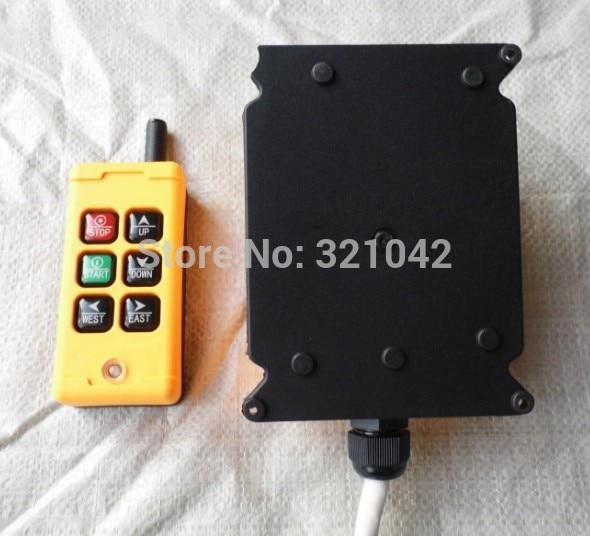 12V 24V 220V HS-6 6 keys Control industrial Remote Controller 2 transmitter+1 receiver dc 24v 24vdc hs 6 6 keys control industrial remote controller 2 transmitter 1 receiver